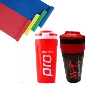 Shaker Pro Combo - 2 x Shaker Pro & 1 x Body Concept 1.2m Resistance Band